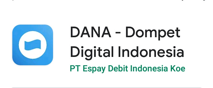 Dana, dompet digital Indonesia Indonesia