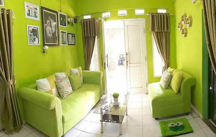 Rumah idaman sederhana nuansa hijau