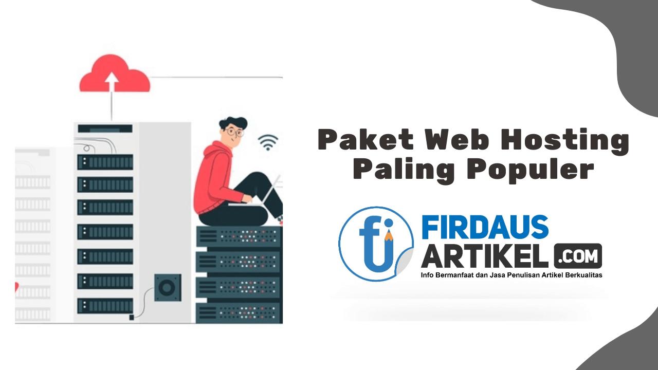 paket web hosting paling populer