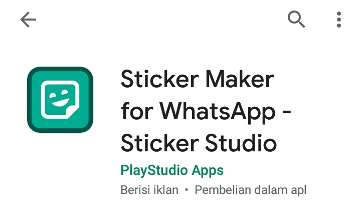 7+ Aplikasi Membuat Stiker Whatsapp Terbaik 2020 3