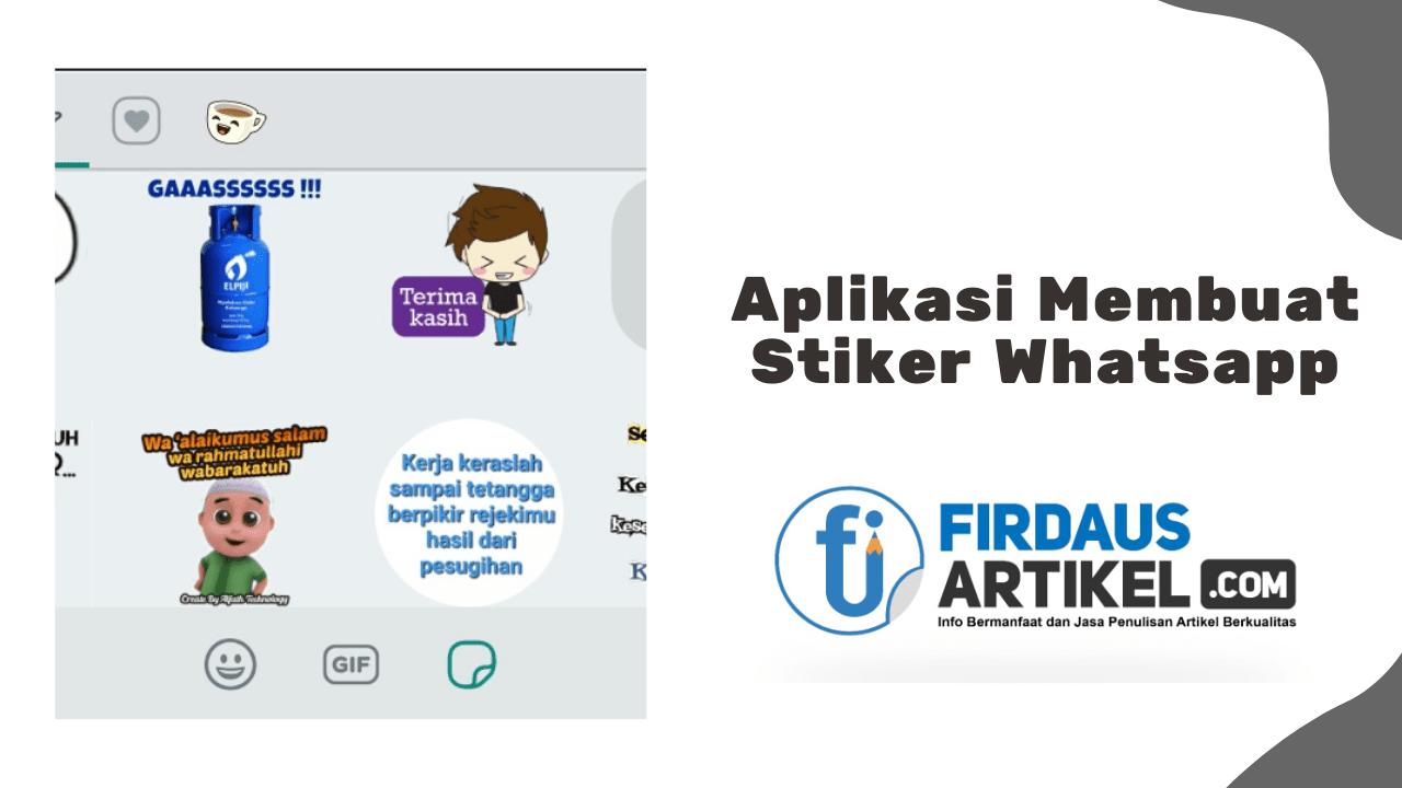 Aplikasi membuat stiker whatsapp