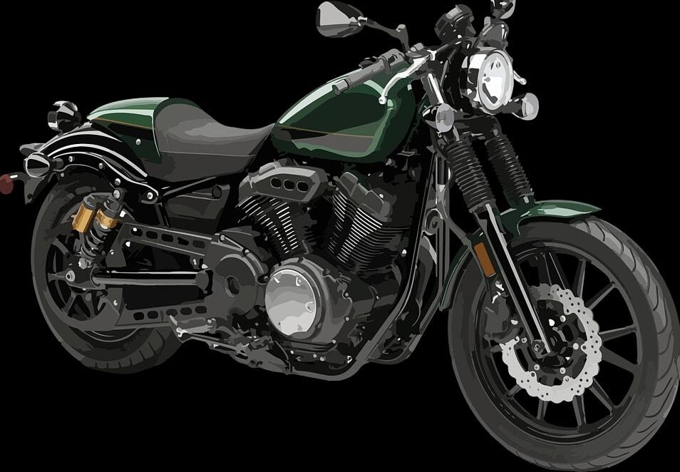 Alat transportasi modern sepeda motor