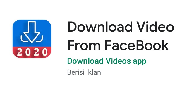 5+ Aplikasi Download Video Facebook Terbaik 2020 3