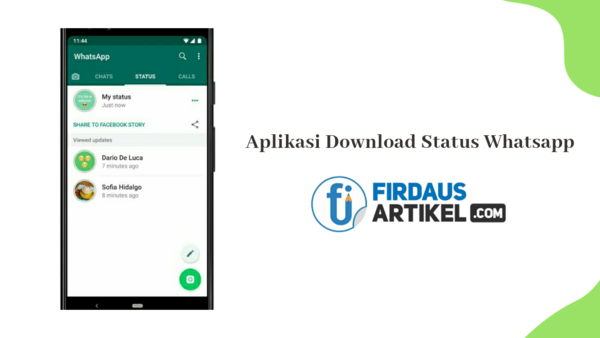 Aplikasi download status whatsapp