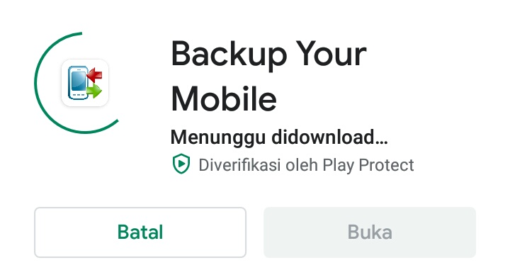 Cara backup data android dengan aplikasi backup your mobile