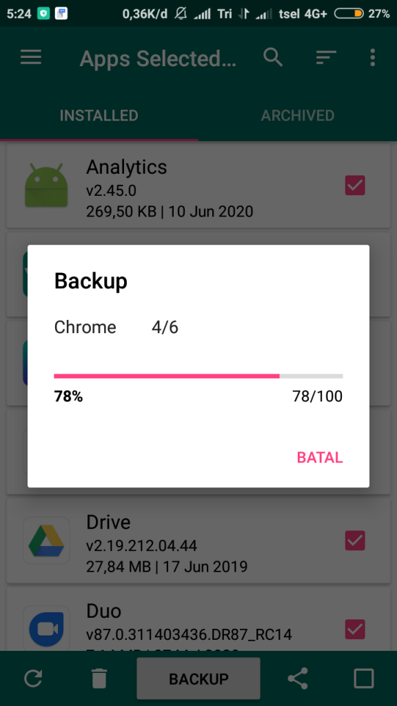 3+ Cara Backup Data Android dengan Mudah dan Cepat 7