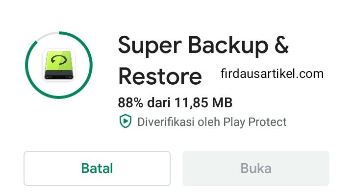 3+ Cara Restore Kontak Android Tanpa Ribet 6