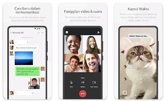 Aplikasi panggilan video WeChat