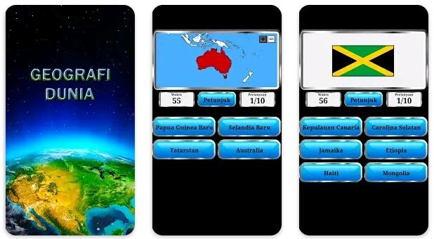 4 Aplikasi Belajar Geografi Paling Oke di Android 3