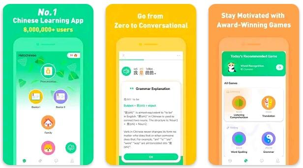 8+ Aplikasi Belajar Bahasa Mandarin Gratis Terbaik 2021 4