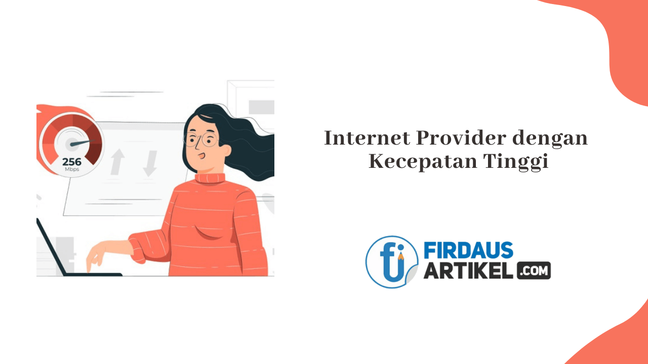 Internet provider kecepatan tinggi