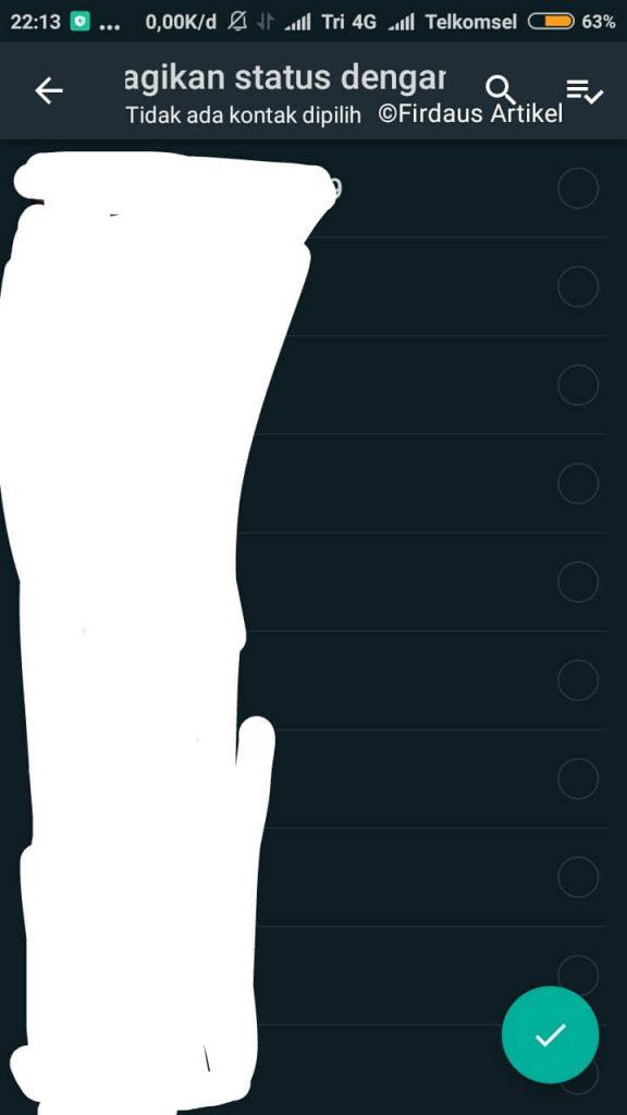 2 Cara Menyembunyikan Status Whatsapp, Cepat dan Mudah! 5