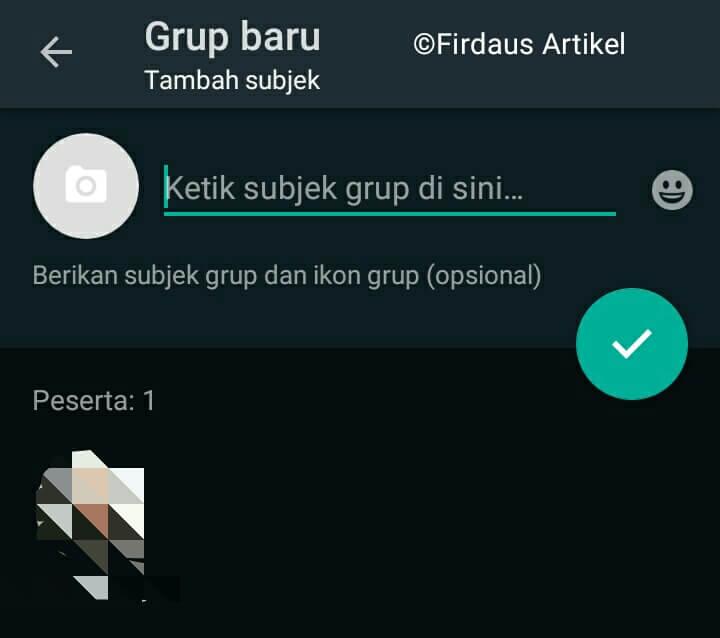 2 Cara Membuat Grup Whatsapp dengan Mudah 5