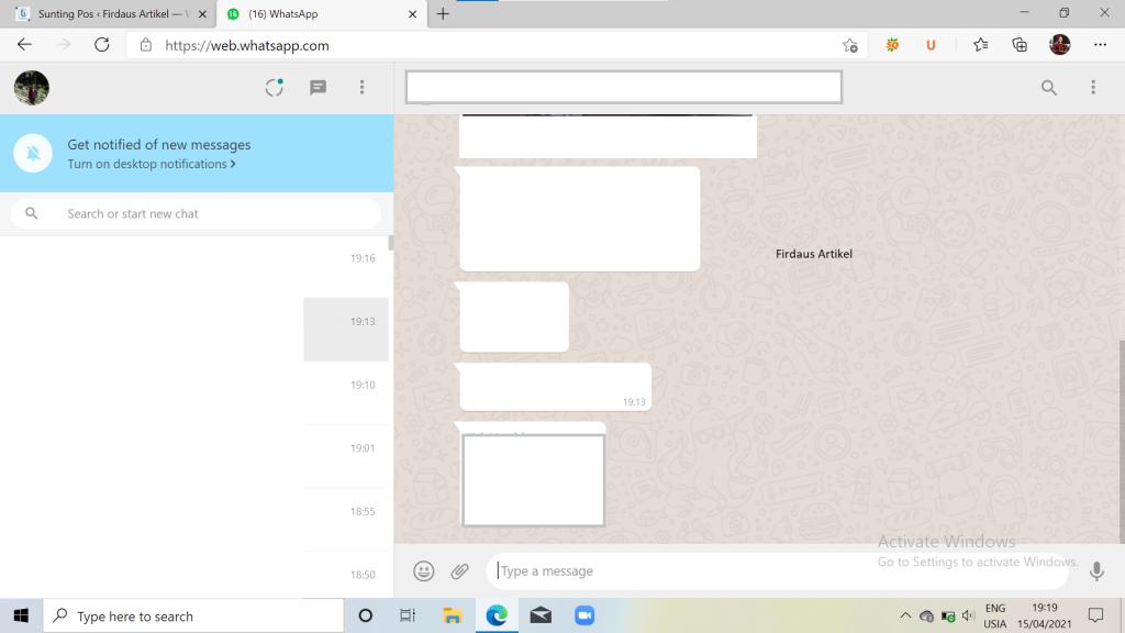 Cara Menggunakan WhatsApp Web di Android + iPhone Lengkap 1