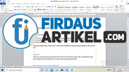 3 Cara Mengatur Ukuran Font di Microsoft Word dengan Mudah 2