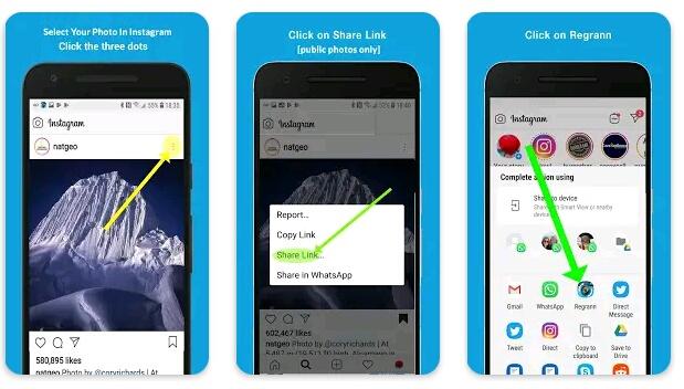 7+ Aplikasi Repost Instagram Terbaik untuk Android dan iPhone 2
