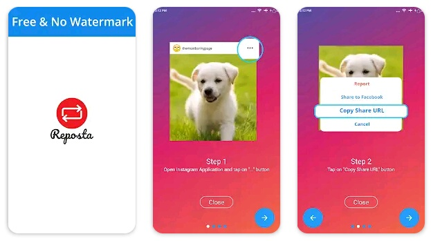 7+ Aplikasi Repost Instagram Terbaik untuk Android dan iPhone 3
