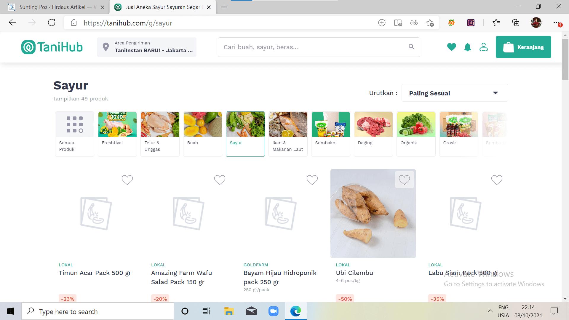 9 Situs Jual Sayuran Online Terbaik, Segar, dan Higienis 6